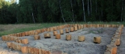 столбчатые фундаменты из дерева