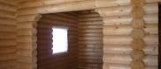 Оцилиндрованные брёвна для строительства дома