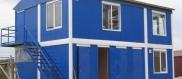здание возведенное из блок-контейнеров
