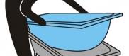 Новый акриловый вкладыш в старую ванну